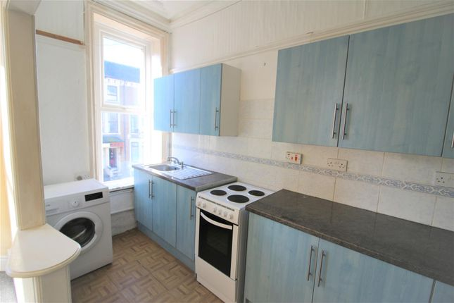 Kitchen  of Flat 3, Sefton Road, Heysham, Morecambe LA3