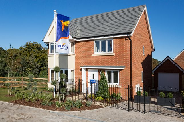 "Thumbnail Detached house for sale in ""The Canterbury"" at Amesbury Road, Longhedge, Salisbury"