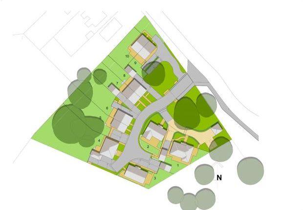 Site Plan of Castle Gresley, Swadlincote, Derbyshire DE11