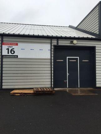 Thumbnail Industrial to let in Unit 16, Centre Point, Hillington Park, Glasgow