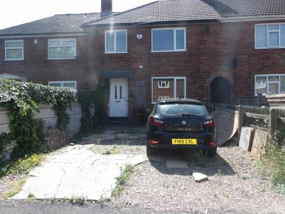 Thumbnail Terraced house for sale in Arnside Close, Bestwood, Nottinghamshire