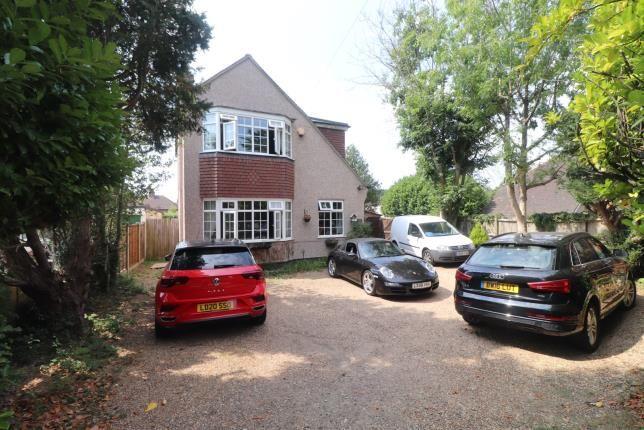 Front of Buxton Lane, Caterham, Surrey, . CR3