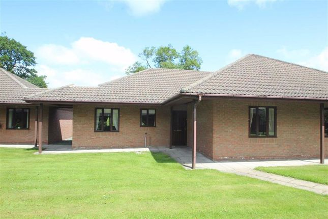 Thumbnail Semi-detached bungalow for sale in Meadowbrook Court, Twmpath Lane, Gobowen, Oswestry