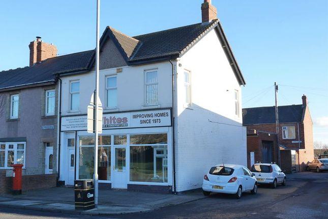 Thumbnail Commercial property for sale in Newbiggin Road, Ashington