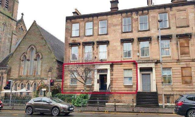 Thumbnail Office for sale in Great Western Road, Glasgow