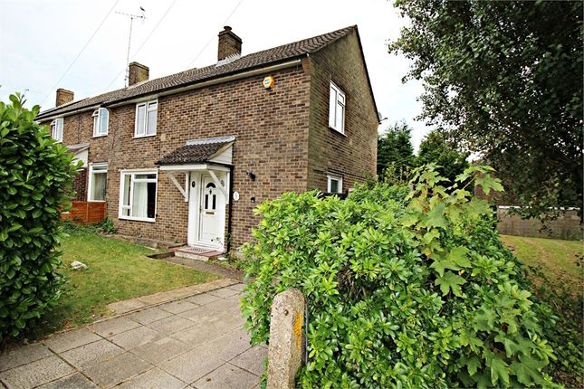Thumbnail End terrace house to rent in Weir Avenue, Farnborough, Hampshire