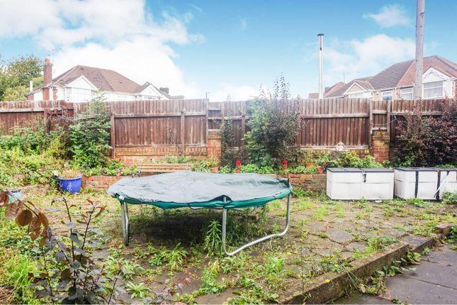 Rear Garden of Daventry Road, Coventry CV3