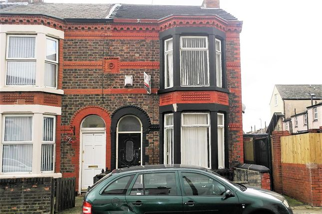 Thumbnail Terraced house to rent in Cowper Street, Bootle, Liverpool