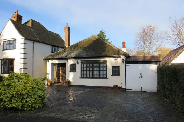 Thumbnail Detached bungalow for sale in Risebridge Road, Gidea Park, Romford