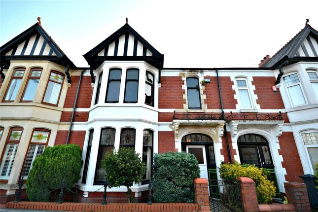 Thumbnail Terraced house for sale in Blenheim Road, Penylan, Cardiff