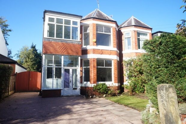 Thumbnail Property to rent in Oaker Avenue, West Didsbury