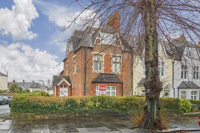 Thumbnail Flat for sale in Stuart Road, Stoke, Plymouth