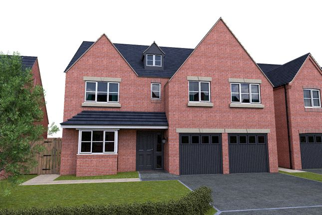 Thumbnail Detached house for sale in Off Repton Road, Willington, Derby