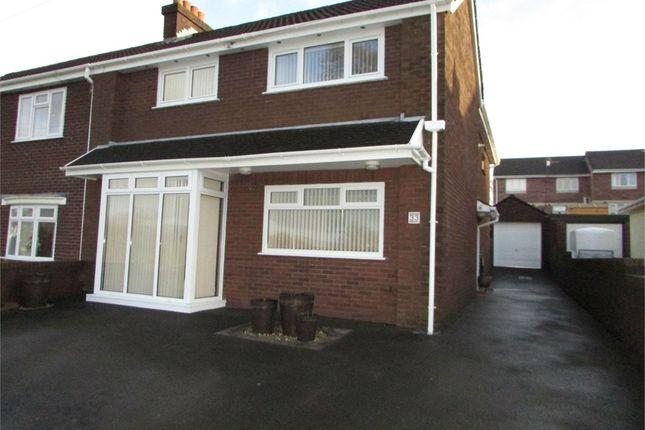 Thumbnail Semi-detached house for sale in Cimla Common, Cimla, Neath, West Glamorgan