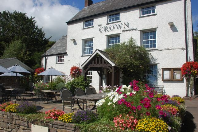 Thumbnail Pub/bar for sale in Hereford Road, Abergavenny