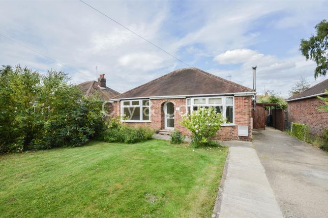 Thumbnail Detached bungalow for sale in Church Street, Northborough, Peterborough