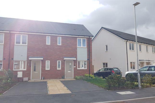 2 bed end terrace house to rent in Hazel Crescent, Branston, Burton-On-Trent DE14