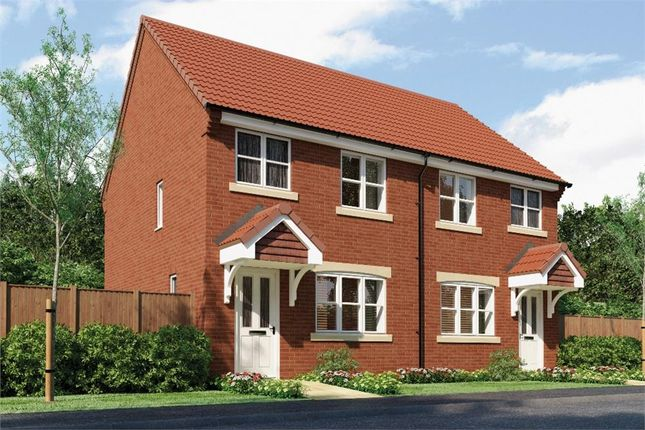 "Thumbnail Semi-detached house for sale in ""The Yare"" at Redcar Lane, Redcar"