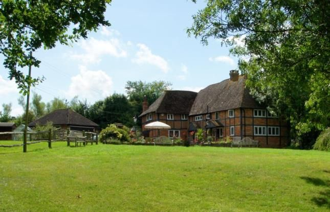 Thumbnail Detached house for sale in The Village, Ashurst, Steyning, West Sussex