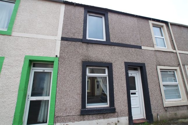 Thumbnail Terraced house for sale in Dalzell Street, Moor Row, Cumbria