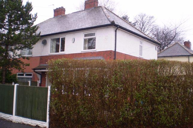 Thumbnail Semi-detached house for sale in Farringdon Crescent, Preston