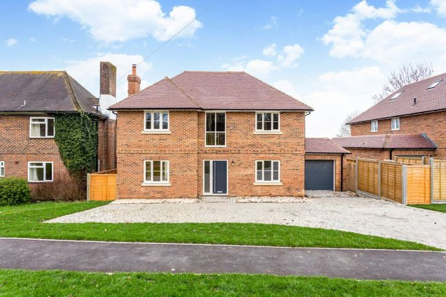 Thumbnail Detached house to rent in West Road, Barton Stacey, Winchester