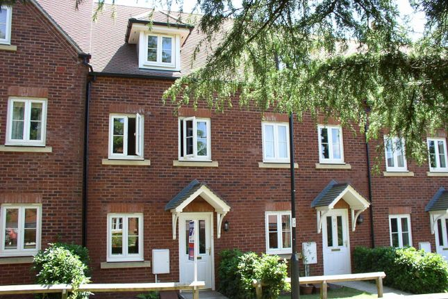 Thumbnail Terraced house to rent in Lister Close, St. Leonards, Exeter