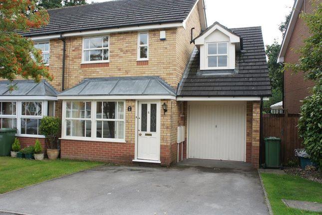 Thumbnail Semi-detached house to rent in Manton Croft, Dorridge