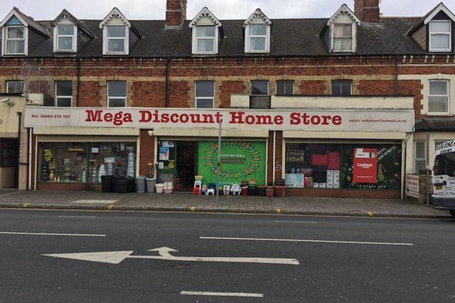 Thumbnail Retail premises for sale in Penarth Road, Cardiff