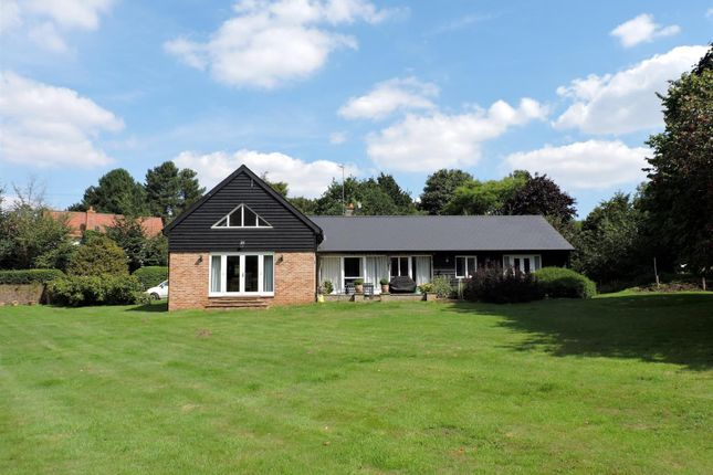 Thumbnail Detached bungalow for sale in School Lane, Bromeswell, Woodbridge