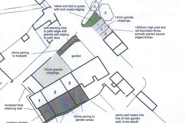 Site Plan of Barns For Conversion With Planning Permission, Blenheim Lane, Exbourne EX20