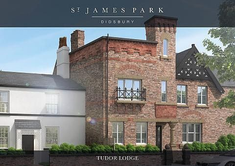 Thumbnail Semi-detached house for sale in St James Park, Wilmslow Road, Didsbury