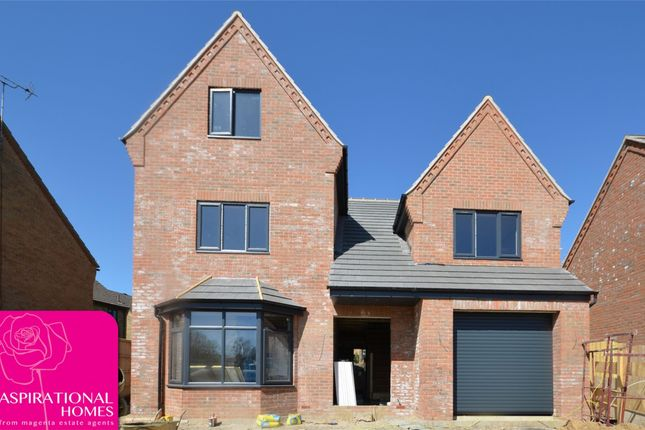 Thumbnail Detached house for sale in Spire View, Rotton Row, Raunds, Northamptonshire