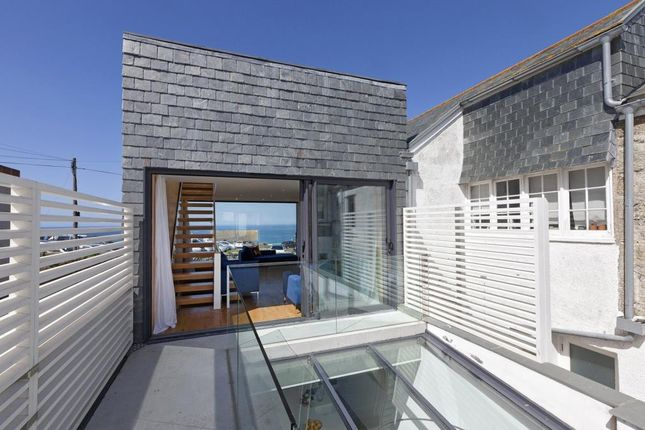 Thumbnail Semi-detached house for sale in West Place, St. Ives, Cornwall