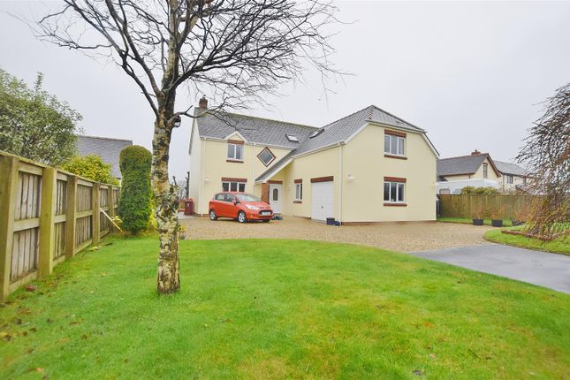 4 bed detached house for sale in Camrose, Haverfordwest SA62