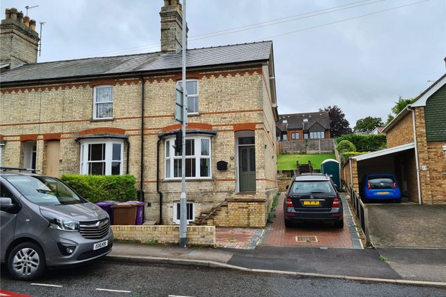 Thumbnail End terrace house to rent in Barkway Road, Royston, Hertfordshire