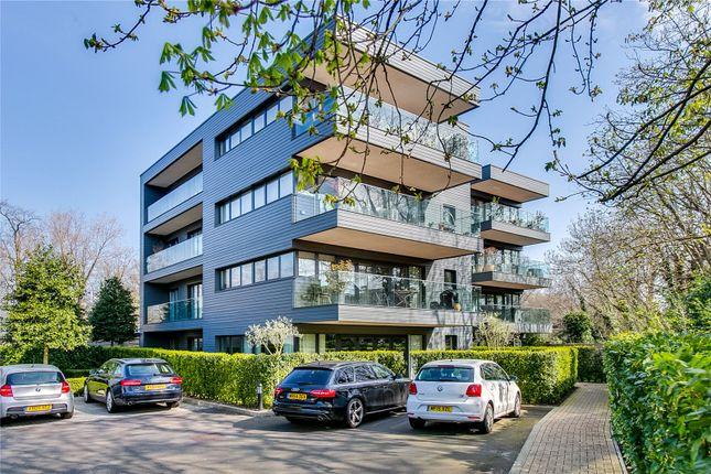 Thumbnail Flat for sale in Halcyon Close, Royal Swiss Development, London