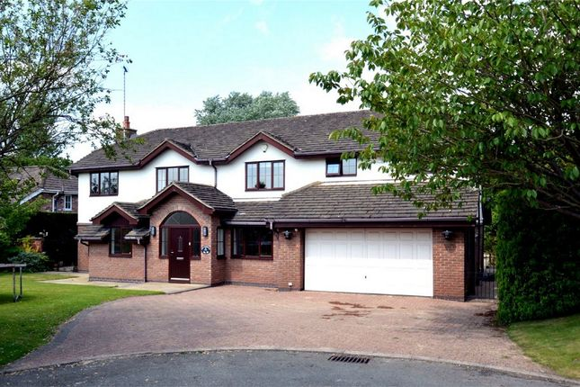 Thumbnail Detached house for sale in Prestwick Close, Tytherington, Macclesfield, Cheshire