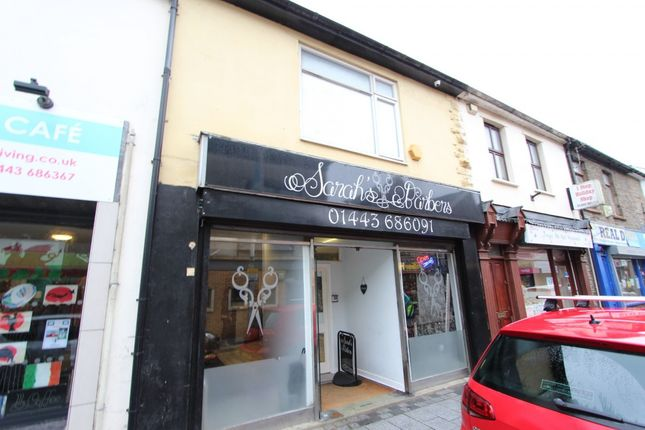 Thumbnail Retail premises for sale in Hannah Street -, Porth