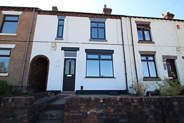 Thumbnail Terraced house to rent in High Lane, Brown Edge, Stoke-On-Trent
