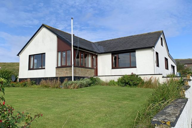 Thumbnail Detached bungalow for sale in Brae, Shetland