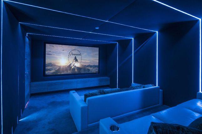 Cinema Room of Cannon Lane, Hampstead Village NW3