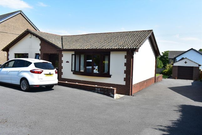 Thumbnail Detached bungalow for sale in Heol Ddu, Ammanford