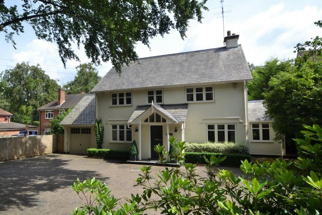 Thumbnail Detached house for sale in Wokingham Road, Crowthorne