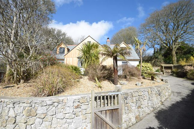 Thumbnail Detached house for sale in Trewince Lane, Port Navas, Constantine, Falmouth