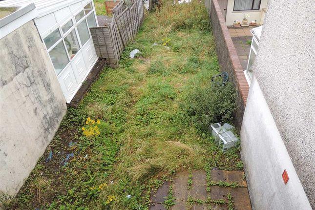 Rear Garden of Wood Street, Maerdy, Maerdy CF43