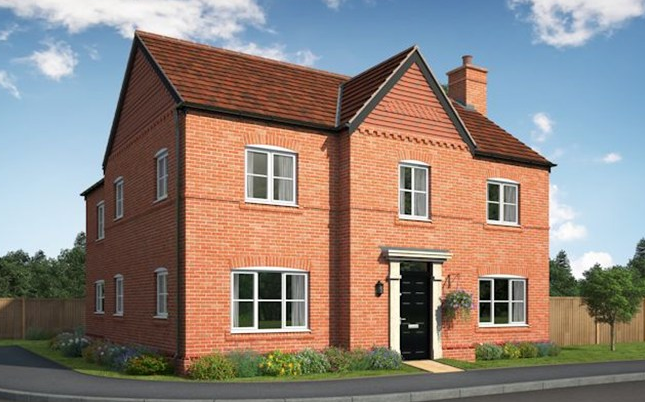 Thumbnail Detached house for sale in The Winster, Hoyles Lane, Cottam, Preston, Lancashire
