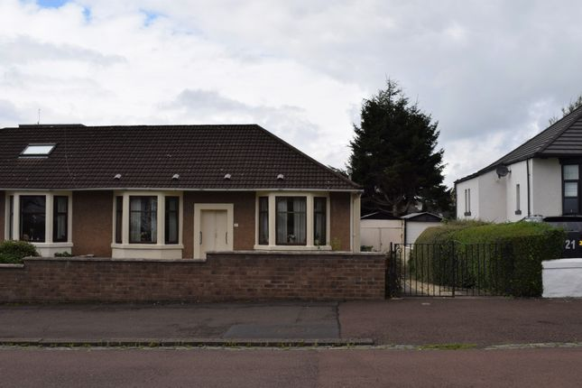 Thumbnail Bungalow for sale in 17 Lednock Road, Cardonald, Glasgow