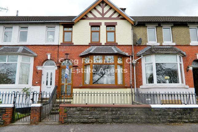 Thumbnail Terraced house for sale in Parkville, Tredegar, Blaenau Gwent.