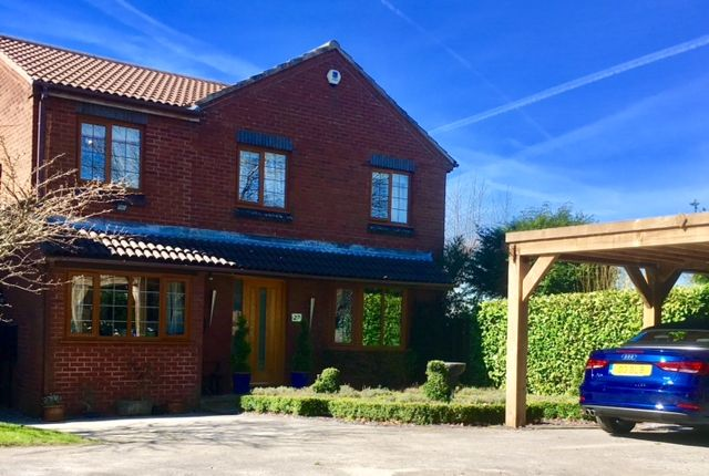 Thumbnail Detached house for sale in Harvest Road, Macclesfield